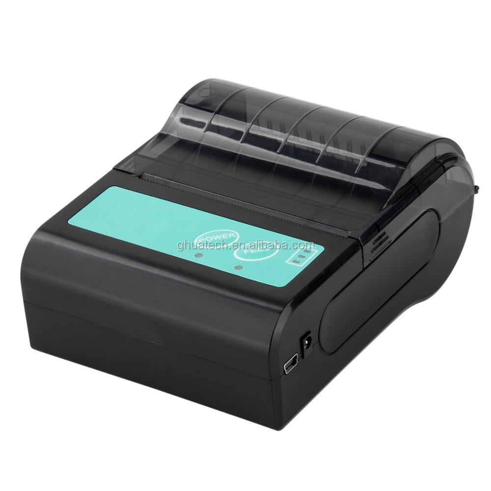 GH Mini Bluetooth small bill printer for Android and IOS online order printing