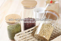 Airtight Pyrex Glass Spice Storage Jar With Lid Wholesale