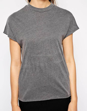 spendex women's t shirt, dry fit t shirt plain, o-neck woman t shirt fitness