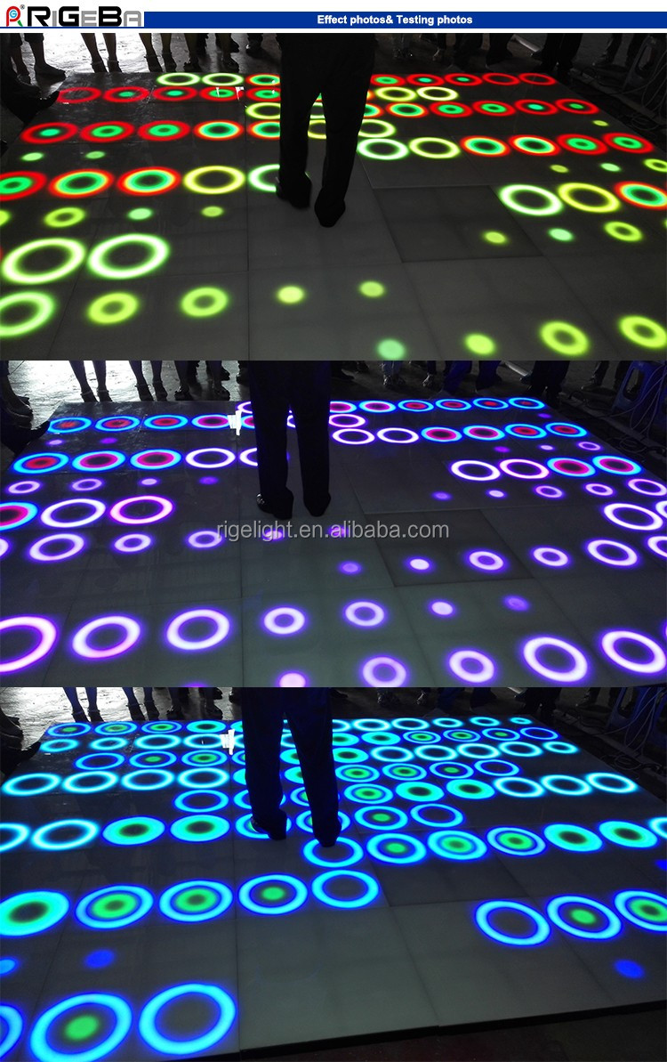 Patent dynamic wall panel fashion effect for wedding party events led dance floor