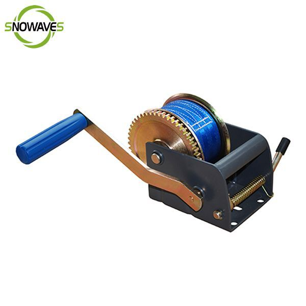 1100lb 500kg brand new ribbon manual winch for boat trailer