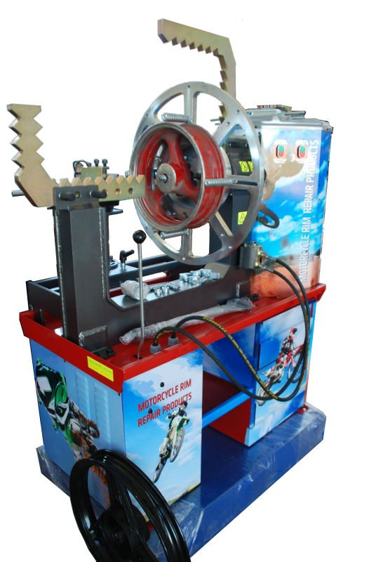 Motorcycle Rim Repair Machines