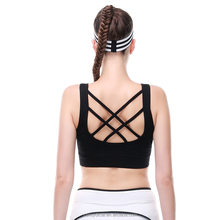 Womens Black Hot sexy xxxx Sports Bra Fitness Yoga Hot Bra