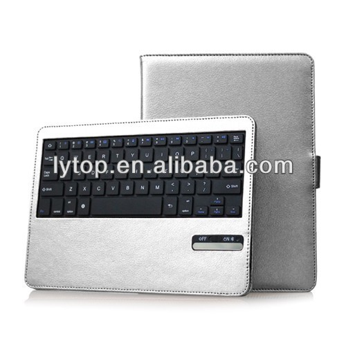 Leather Detachable Universal 3.0 Bluetooth Keyboard Case for iPad Air With ABS Keyboard