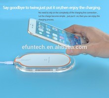 2017 Universal Ultra Thin factory price wireless phone charger for Samsung Note5