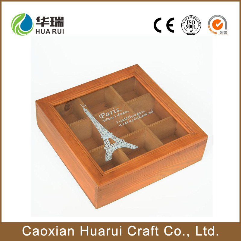 Wholesale art minds wood crafts unfinished DIY wooden craft with handle