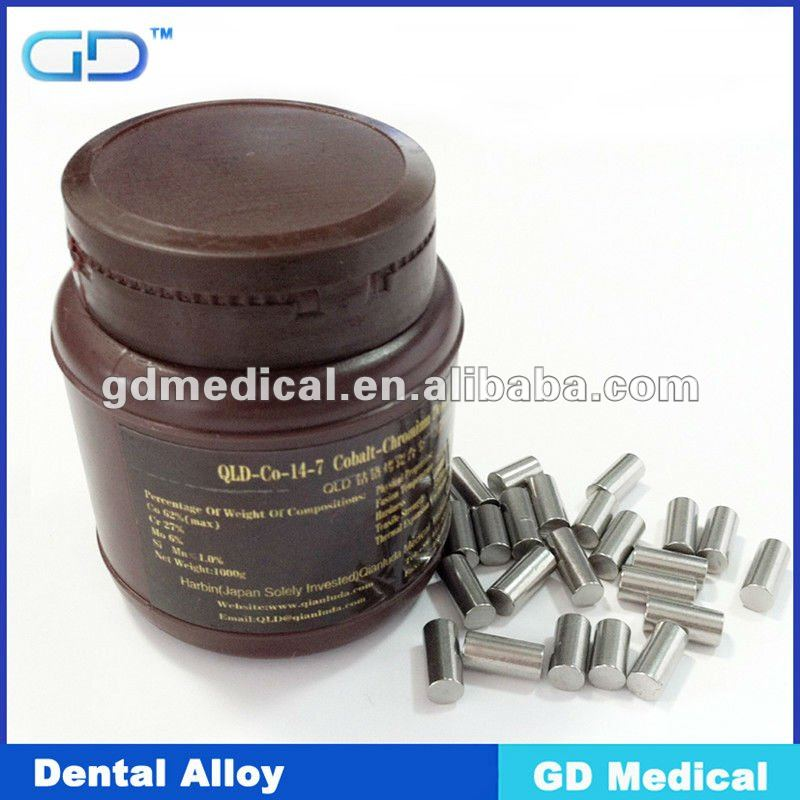 Co-Cr-Mo Dental Ceramalloy Casting alloy