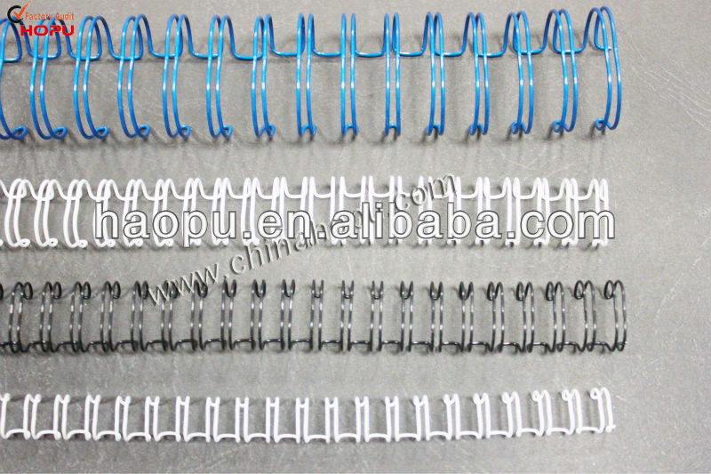 nylon coated book binding wire double wire for sale book binding