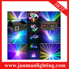1W RGB Animation Laser Light DJ Stage Lighting High Power Led Cartoon Laser Light
