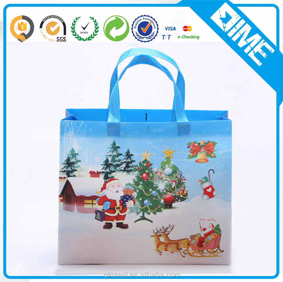 Top Quality Promotion Laminated Reusable Non Woven Shopping Bag