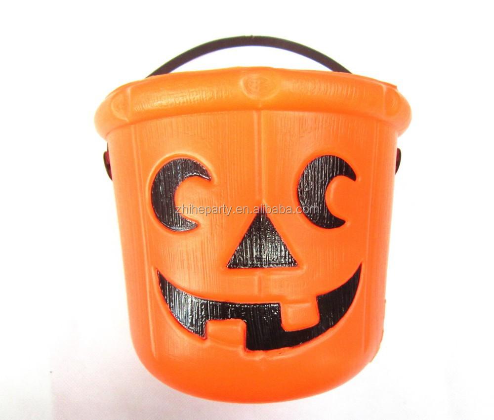 Halloween Plastic Buckets