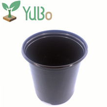 cheap plant plastic biodegradable 6.3 Inch flower pots for garden and home