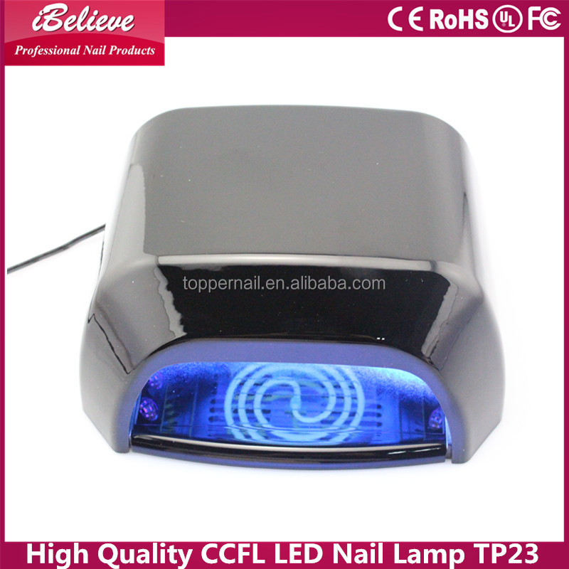 CE approved high quality quick curing led uv nail lamp ccfl nail polish 40W interaction ccfl nail lamp