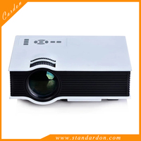1200 Lumens HD 1080P LED Video Projector 3D HDMI Wifi Home Theater TV USB VGA