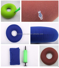 15''&18'' Medical Flannel Waterproof Inflatable Air Ring Donut Seat Cushion For Hemorrhoids