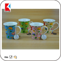 ladies fancy items drinking cups new bone china custom mug printing