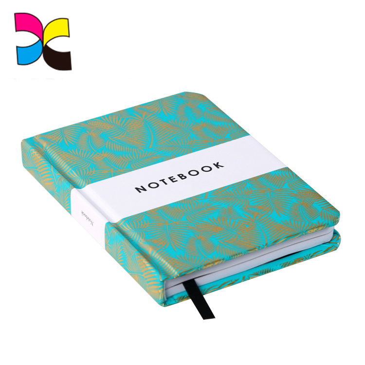 Beautiful design hardcover diary notebooks with sleeves