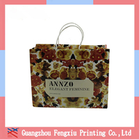 Luxury Custom Hot Stamping Paper Bag
