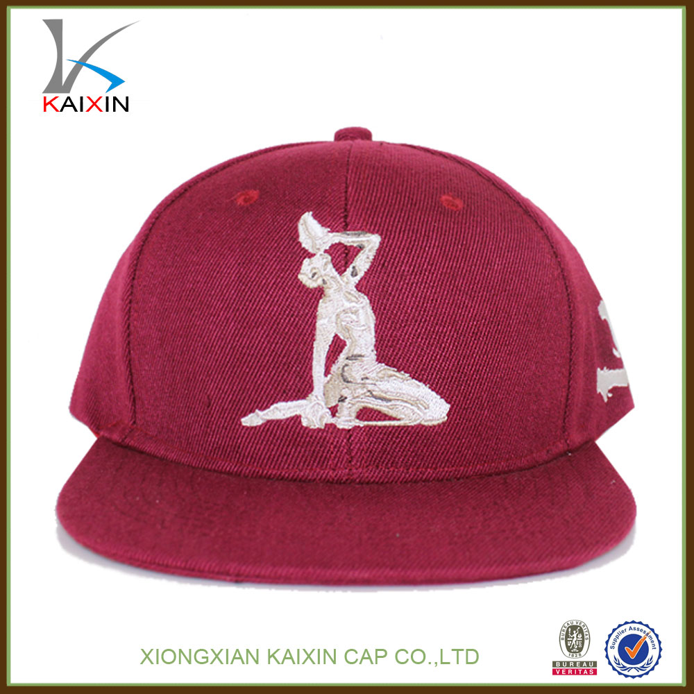 Fashion New Stylish Men/Women 3D Embroidery Customized Flat Brim Snapback Sport Hip Hop Cap And Hat