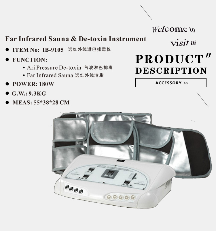 professional lymphatic drainage massage machine lost weight wholesale factory