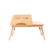 Modern Home <strong>Furniture</strong> Folding Coffee Bamboo Table on Bed
