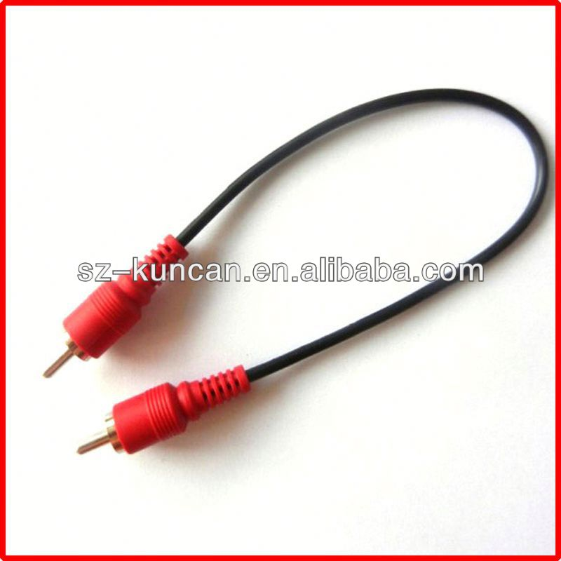 3.5mm right angle stereo audio cable DC power cable 10ft