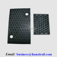 Railroad Rail Rubber Panels