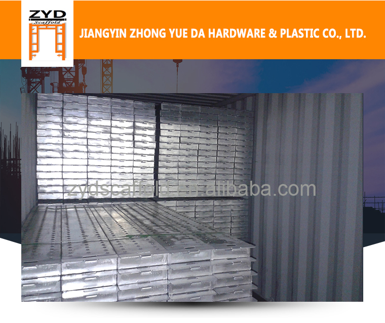 Best Selling Galvanized Sheet Scaffold Steel Plank
