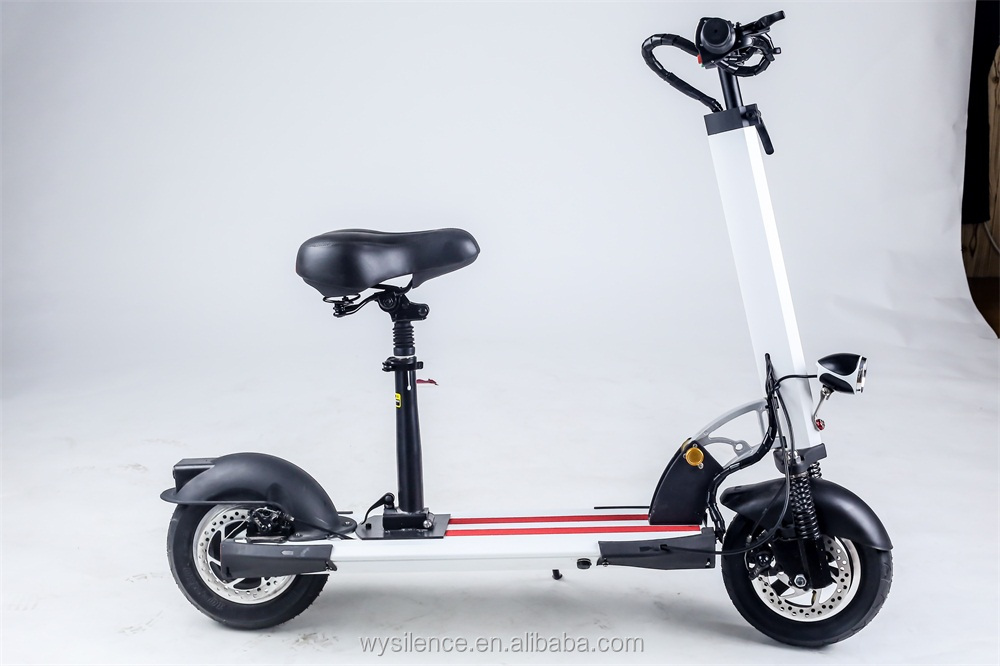 10 Inch 350W Adult Electric Scooter Mobility Foldable Vehicle Lithium Battery