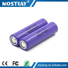 Original New chem E1 18650 3.7V 3200mAh high capacity rechargeable battery for torch battery cell