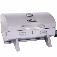 Camping stainess steel electric bbq spit with handle / CSA