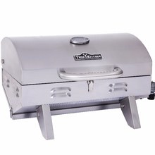 Camping stainless steel electric bbq spit with handle / CSA