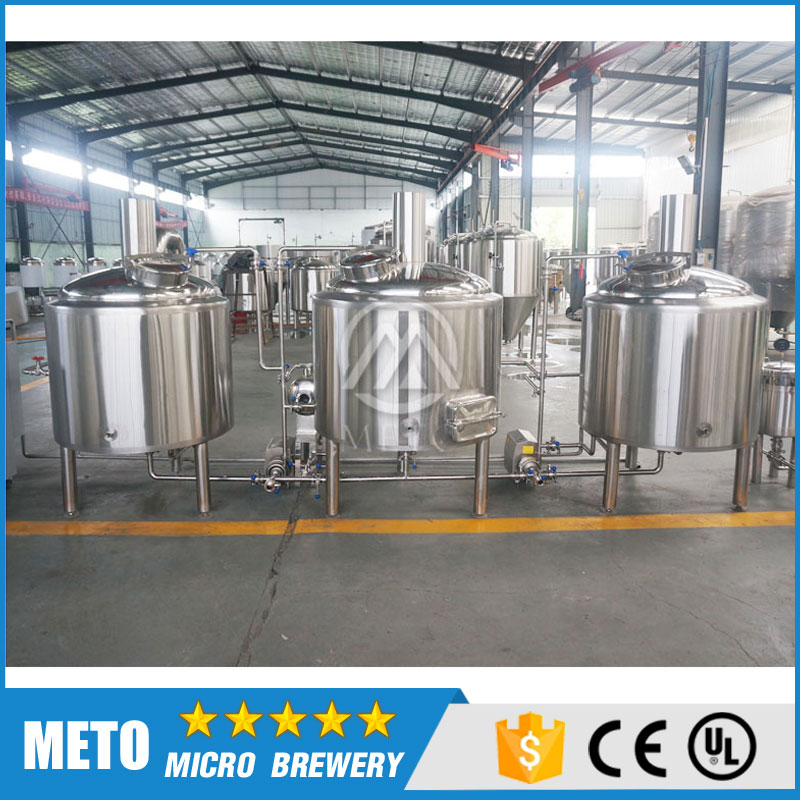 Semi-auto control beer brewing system 7BBL 10BBL turnkey brewing system machine from beer manufacturer