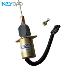 3934174 12V Diesel Spare Parts Shutdown Solenoid SA-4697-12 Truck Engine For 5.9L 20B engine