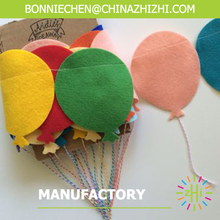 colorful balloon garland for birthday party
