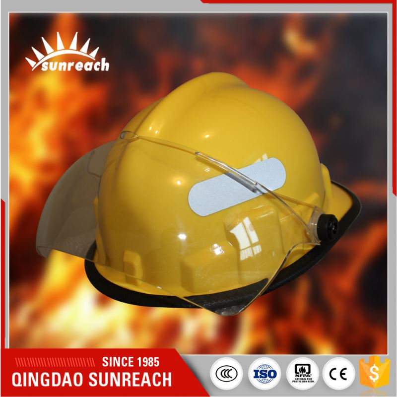 Heat-Resisting Abs Safety Head Protection Fire Helmet