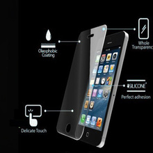 9H Hardness 0.3mm color tempered glass screen protector for iphone 5