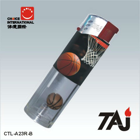 TAJ Brand gas lighter with balls