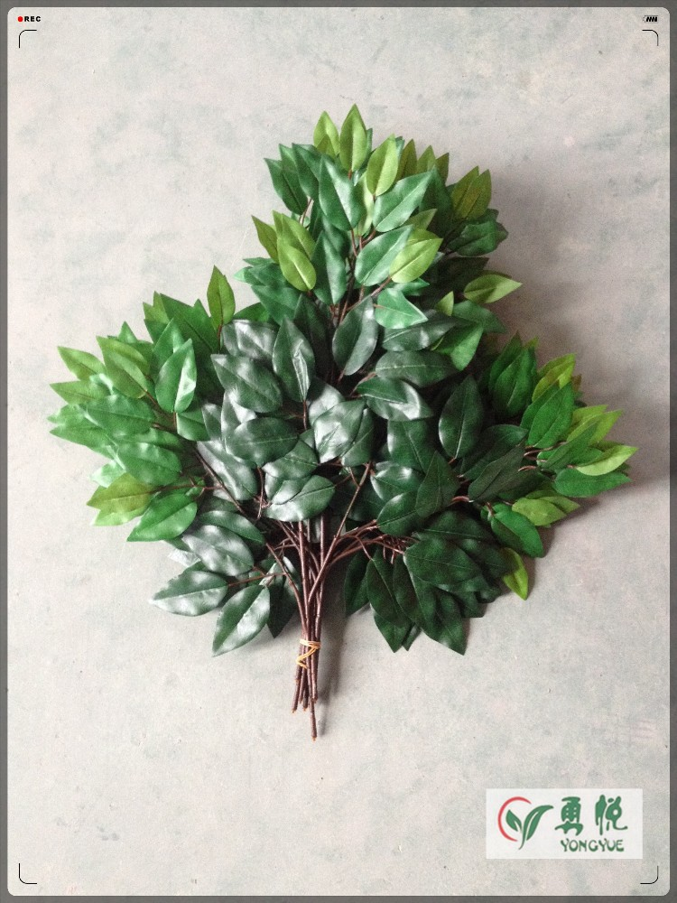 Artificial leaves decoration indoor and home hotel garden for Artificial banana leaves decoration