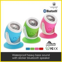 Drum sd card portable bluetooth speaker for shower
