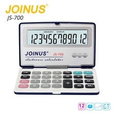 Wholesale Custom Factory Supply Business Office Home 12 Digit Electronic Folding Calculator