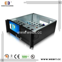 industrial case+steel cover 0.8mm thickness+keyboard/mouse+LCD screen ATX box