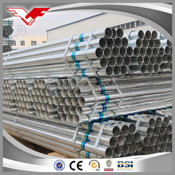 2017 Famous brand supply directly building material gi pipe manufacturer