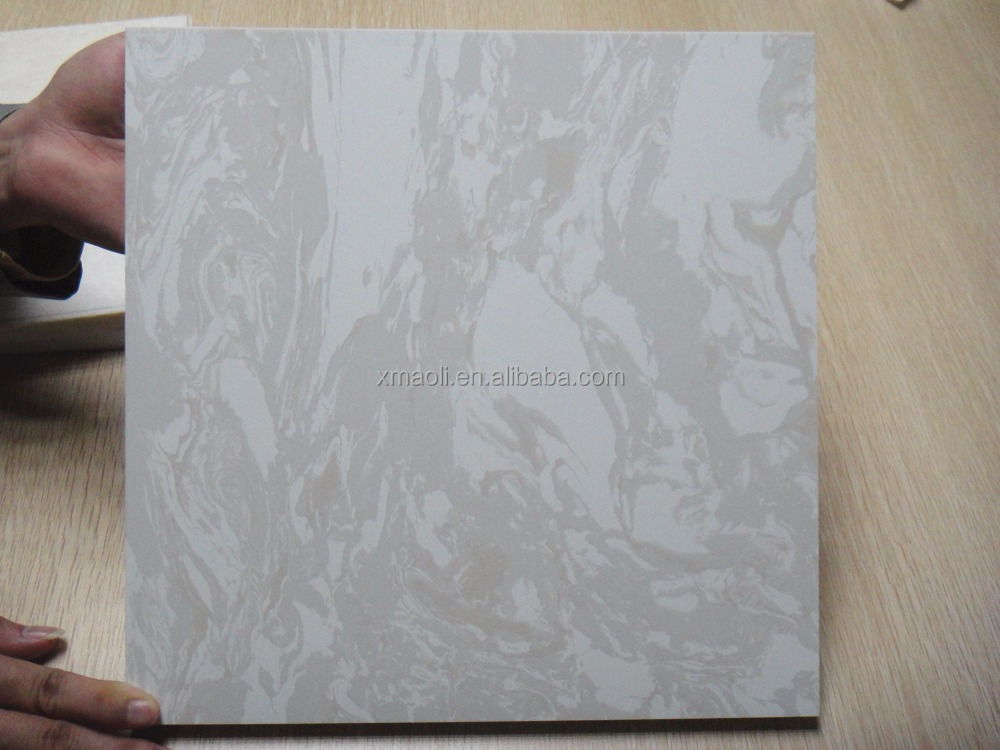 China Hot New Products solid surface smooth big slab artificial marble stone for wholesale