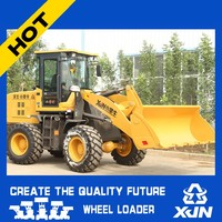 Manufacturer export mini loader 4WD hot sale with CE mini wheel loader with telecopic boom