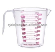 European Fashionable First Rate High Quality food grade measuring cup scale Bpa free