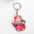 Wholesale hot selling items high quality thin plastic pvc key chain for kids