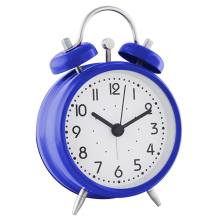 Bed Room Decoration Children Metal Alarm Clock Twin Bell Clock