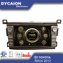 Car radio cd DVD GPS player Toyota RAV4/car DVD Toyota RAV4 with bluetooth GPS/car DVD GPS Navigation Toyota RAV4