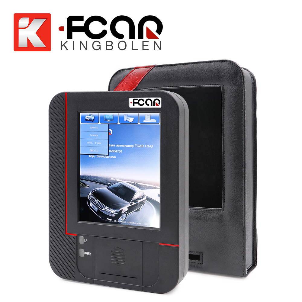 Original Fcar F3-G gasoline car and heavy duty truck scanner 1 year free update online super F3G (F3-W+F3-D)